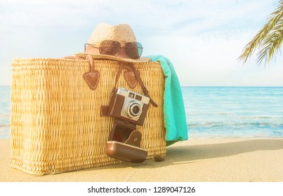 Summer vacation travel concept