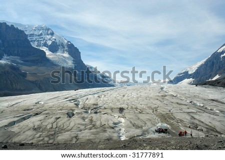 782a3b567347 Summer View Columbia Icefield Jasper National Stock Photo (Edit Now ...