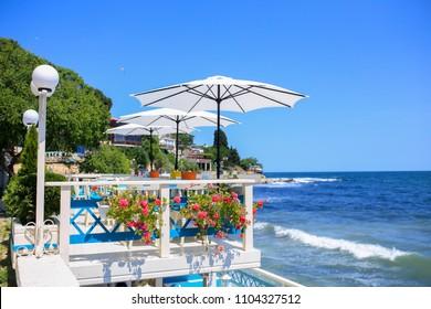 Summer view,  Nessebar Bulgaria