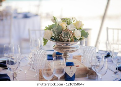 Summer Wedding Centrepiece