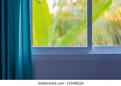 summer window background