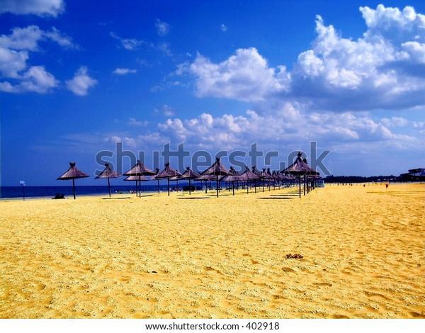 Summer,a beach landscape