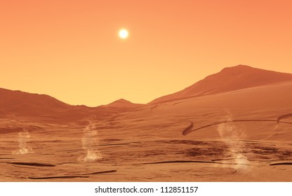 Summer-day from mars