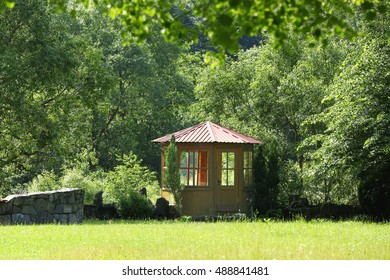 Summerhouse in beautiful park