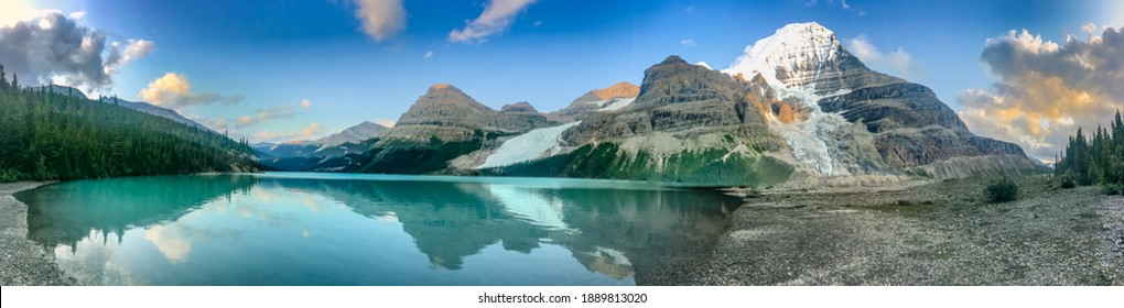 Summertime at Mt. Robson UNESCO World Heritage Site