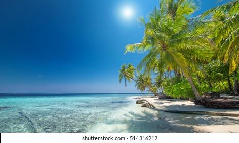 summertime at a perfect beach