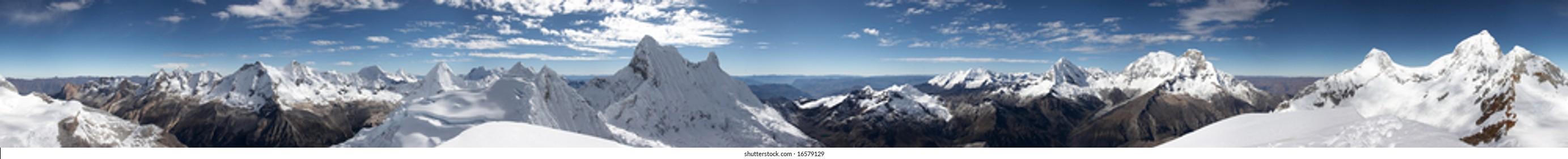 Summit 360 degree panorama