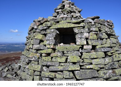 Summit of Creagan a' Chise The Hills of Cromdale.Cromdale.Highlands. Scotland