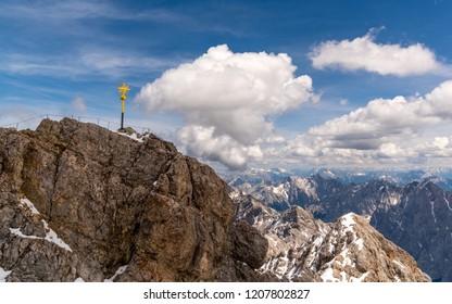 Summit Cross on Zugspitze