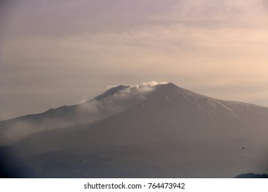 The summit of Etna volcano - Sicily