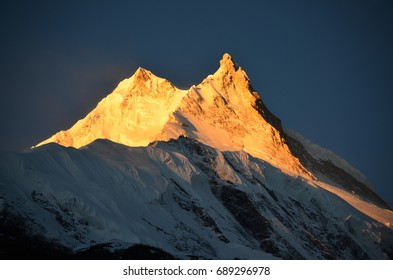 Summit of Manaslu
