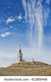 Summit of Mont Ventoux, Provence, France