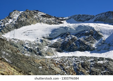 The summit of the Pigne de La Le in the Val d'Anniviers in Southern Switzerland