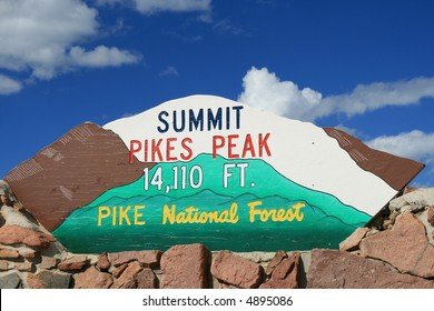 Summit, Pike's Peak, Colorado