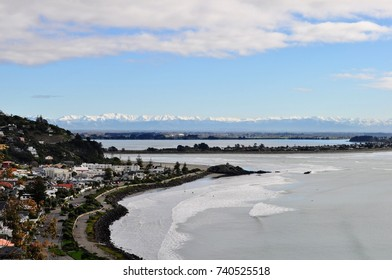 Sumner beach in Christchurch, New Zealand,
