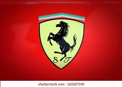 SUMPERK - DEC 19, 2009: The Scuderia Ferrari team was founded by Enzo Ferrari in 1929.. December 19, 2009 in Sumperk, Czech Republic
