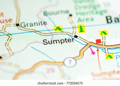 Sumpter. Oregon. USA