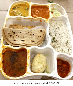 A sumptuous North India vegetarian lunch