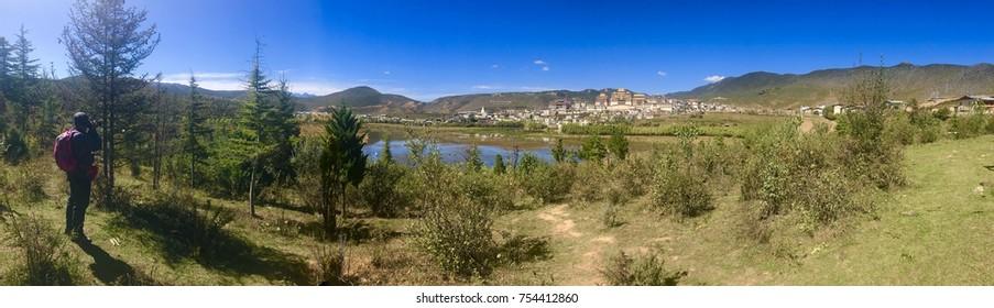 Sumtseling ganden monastery at shangri la county