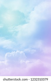 sun background with a pastel colored gradient