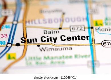Sun City Florida Map.Roswell Georgia Usa On Map Stock Photo Edit Now 1203673615