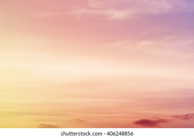 sun and cloud background with a pastel violet colored gradient
