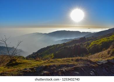 Sun and Clouds - Kalipokri- sandakphu