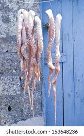 Sun Dried Octopus