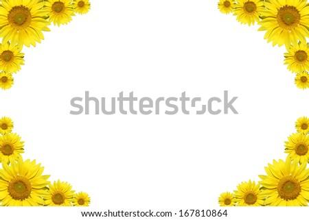 sun flower boarder stock photo edit now 167810864 shutterstock