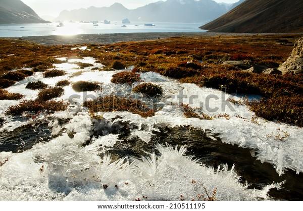 Sun Glare Frost - Greenland