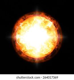 Sun. Global warming