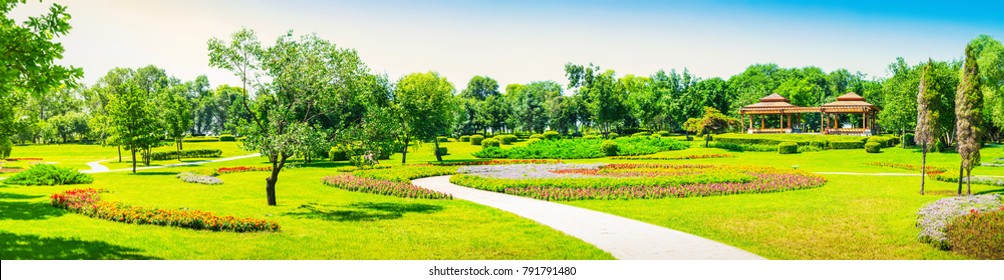 Sun Island Park in early spring, located in Harbin City, Heilongjiang Province, China.