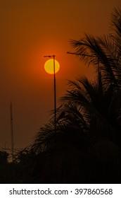 Sun light and antenna