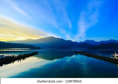 Sun Moon Lake Dawn