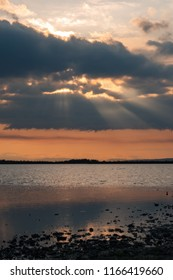 Sun on the Zicksee in Burgenland