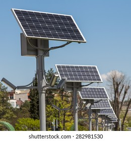 Sun Power Street Light