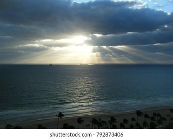 Sun rise in Florida
