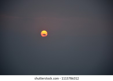 Sun rise Sky