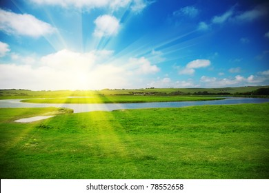 Sun Rise Images Stock Photos Vectors Shutterstock