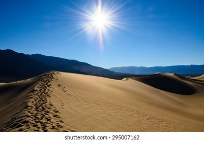 Sun Scorched Landscape of Death Valley
