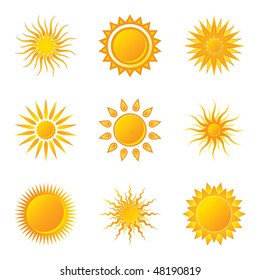 Sun. See vector version in my portfolio