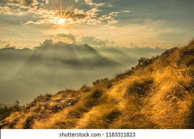 The Sun Sets Over The Mountains - Fabulous Outdoors