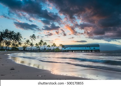 Sun sets over the Port Douglas pier on another Glorious day in Queensland.