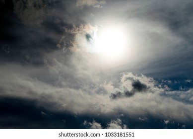 sun sky clouds background beauty texture