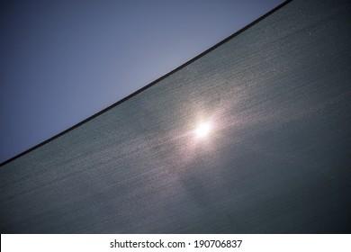 Sun Through Shade Sail