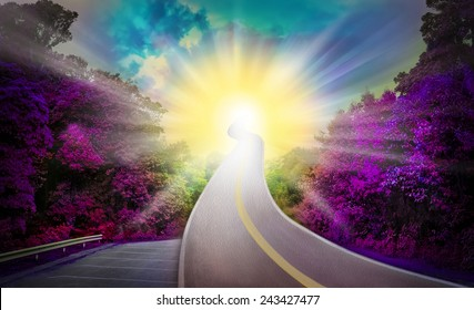 Sun Way heaven Violet Blue amazing beautiful shining stars Full sun Way heaven blue and yellow amazing wonderfully beautiful shining stars color think for God,Exceed the actual