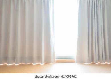 Sun windows and curtains