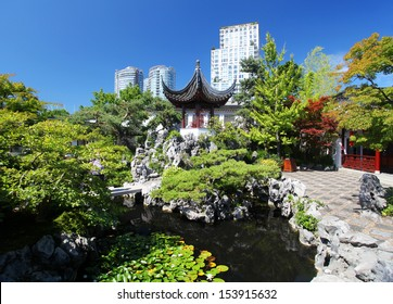 The Sun Yat-Sen Chinese Garden in Vancouver