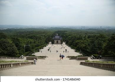 Sun Yat-sen Mausoleum overall view