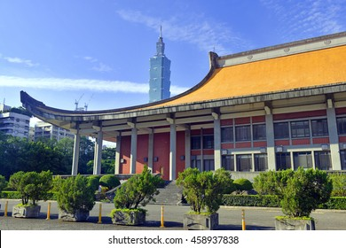 Sun Yat-sen Memorial Hall, desgined to commemorate Dr. Sun Yat-sen, considered the Father of the Republic of China